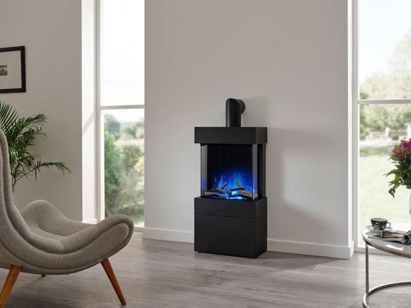 Luca-450-freestanding-with-log-box-blue-flame.jpg